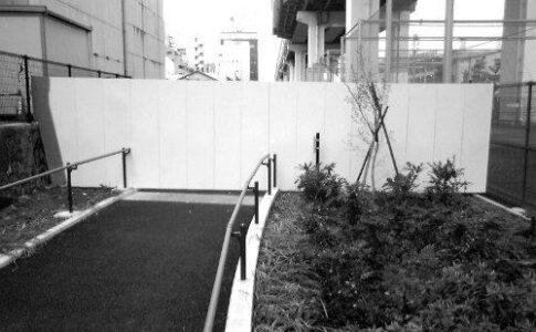 竪川・鋼板封鎖