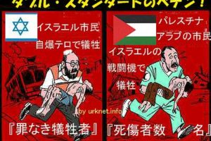 イスラエル問題「テロ」の欺瞞