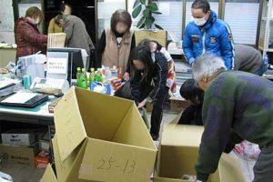 いわき市への救援物資搬送に参加ー三里塚・市東さんの会の仲間と