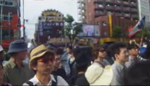 2013.6.30 新大久保 レイシストヘイト「デモ」への抗議行動