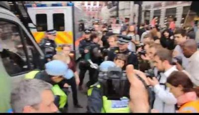 2013.06.11 イギリスG8サミット抗議行動 in ロンドン