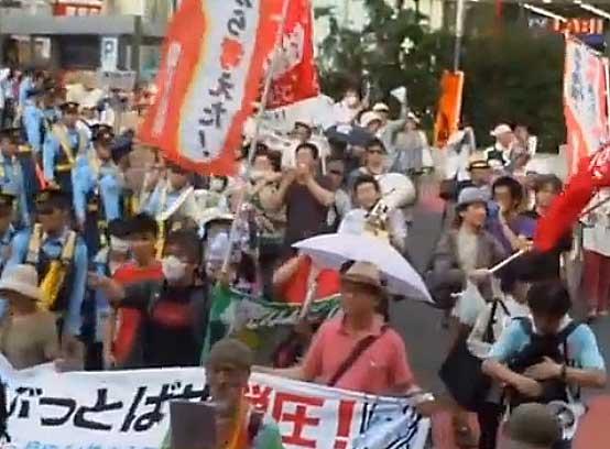 2014.07.12 ぶっとばせ弾圧!デモに自由を!
