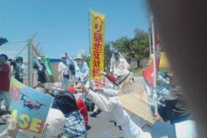 2014.07.27 辺野古新基地建設阻止!シュワブゲート前闘争報告(2)