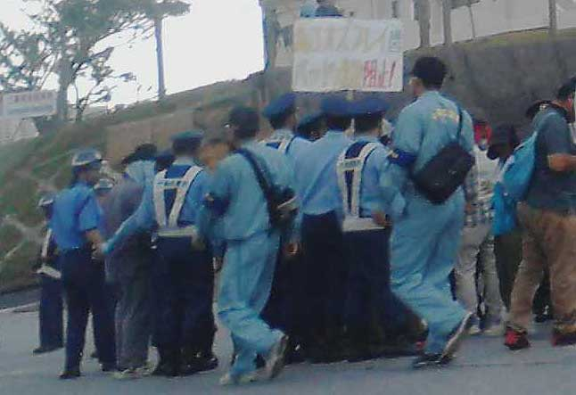 2014.07.28~30 辺野古新基地建設阻止!シュワブゲート前闘争報告
