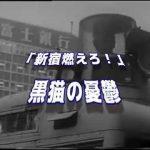 動画】1968.10.21 国際反戦デー 新宿騒乱事件 & 新宿燃えろ/黒猫の憂鬱