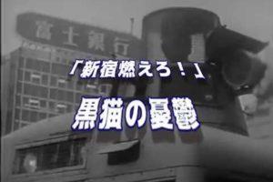 1968.10.21 国際反戦デー 新宿騒乱事件   & 新宿燃えろ/黒猫の憂鬱