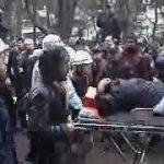 野宿労働者の強制排除阻止行動に参加してー大阪うつぼ公園