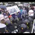 反G8デモの禁止と参加者逮捕を弾劾する
