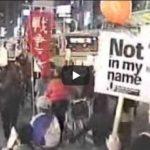 動画】2005.11.15 ブッシュ-小泉 京都会談阻止!  戦争と基地強化のための日米首脳会談反対!京都行動