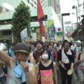 2011.08.06 【素人の乱】東電前・銀座 原発やめろデモ!!!!!(UnionTube ver)