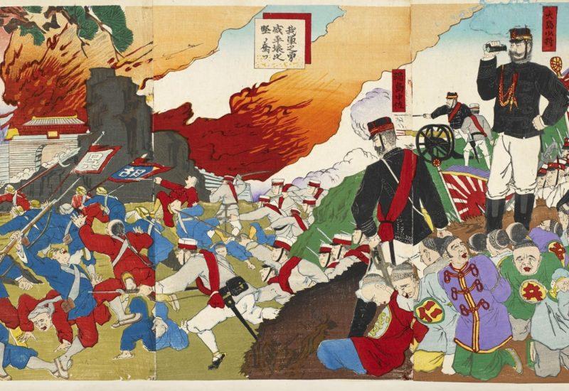 侵略戦争の錦絵