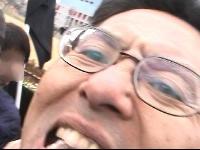 市民デモを襲撃する大阪府警