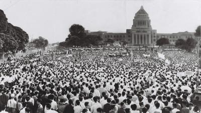 60年安保 国会前