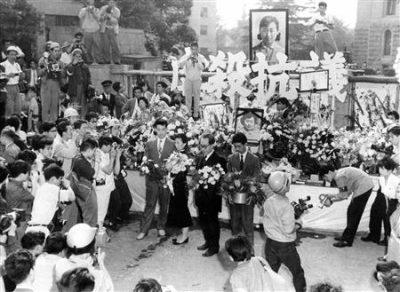 60年安保 樺美智子さん虐殺抗議