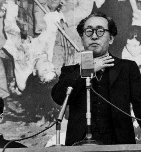 60年安保 樺美智子さん虐殺抗議集会