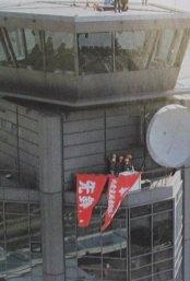 成田空港管制塔占拠事件