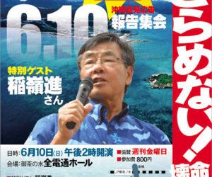 沖縄意見広告関東報告集会チラシ