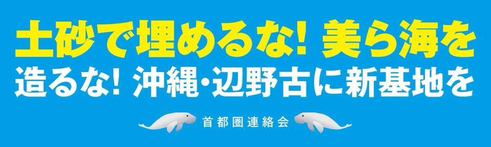 翁長沖縄県知事による「埋め立て承認撤回」表明支持!官邸前行動