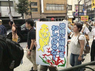 2018.08.11 沖縄県民大会に呼応する首都圏大行動に参加