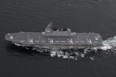 ほぼ空母に匹敵する護衛艦「ひゅうが」