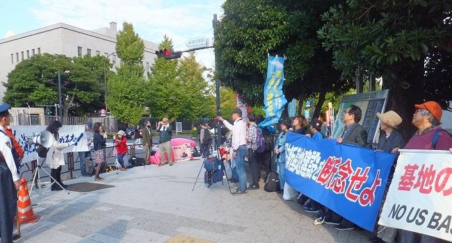 10.20官邸前緊急抗議行動