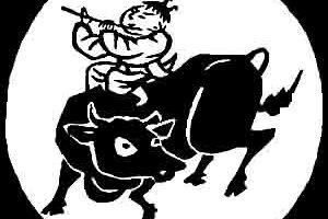 十牛図・6騎牛帰家