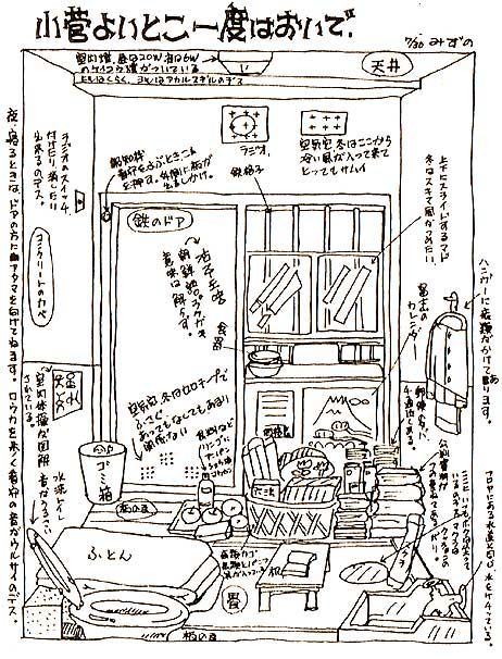 小菅拘置所内部の様子