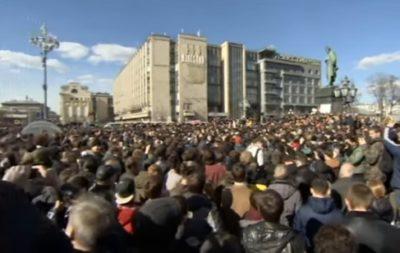 2017.03.26 ロシア各地で反汚職デモ