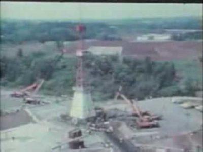 1977.05.06 三里塚(成田)闘争 岩山大鉄抜き打ち撤去