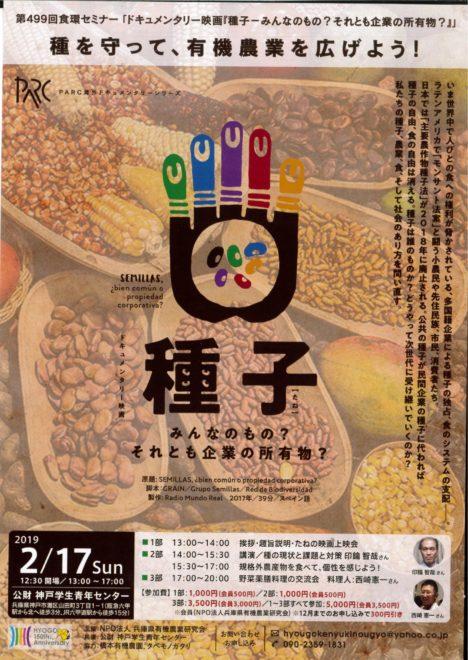 映画『種子ーみんなのもの?それとも企業の所有物?』第499回食糧セミナー