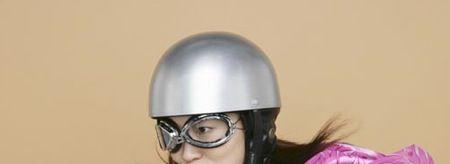 ヘルメットで安心のジグザグ会