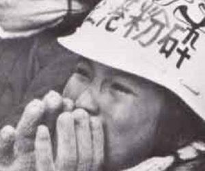 三里塚・反対農家の少女