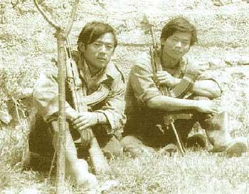 リッダ闘争で亡くなった故安田安之さんと故奥平剛士さん