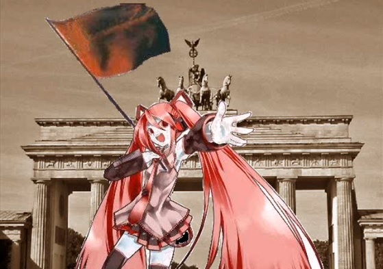 赤旗の歌/初音ミク