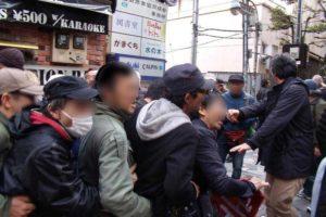 3・21 集団的自衛権法制化阻止・新宿反戦デモ