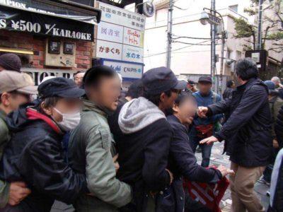 写真集】3・21 集団的自衛権法制化阻止・新宿反戦デモ