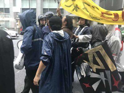 2019.05.01 新天皇いらない銀座デモに行ってきた
