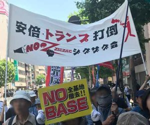 2019.05.25トランプ来日・天皇会談反対デモ~辺野古NO!国会包囲行動に参加