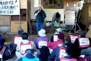 2010.12.5三里塚・東峰現地行動 3/6-釜ヶ崎日雇労働組合の発言
