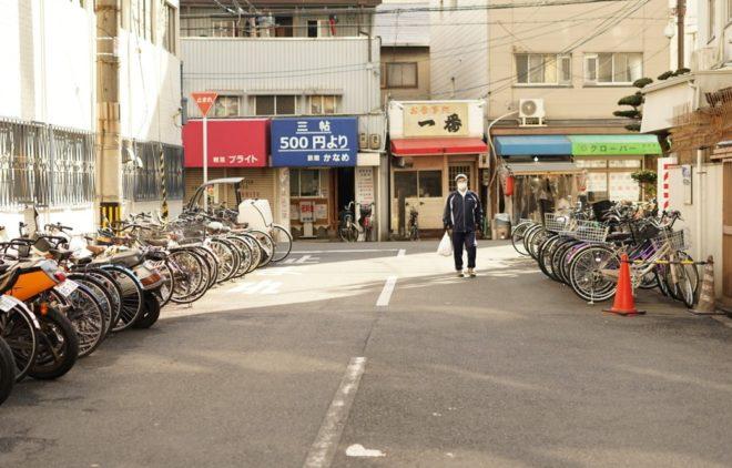 釜ヶ崎ドヤ街