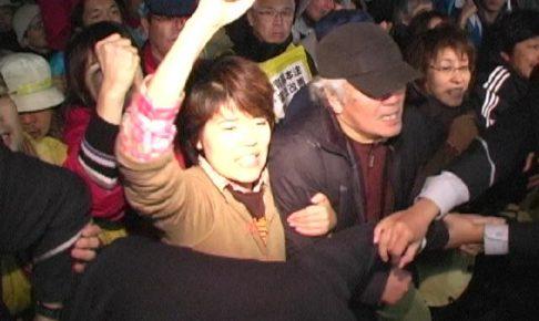 教基法改悪阻止闘争の記録:参院委強行採決に怒り爆発!
