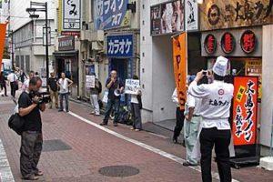 「大島ラーメンは外国人労働者の悔し涙の味がする」 抗議の声を!