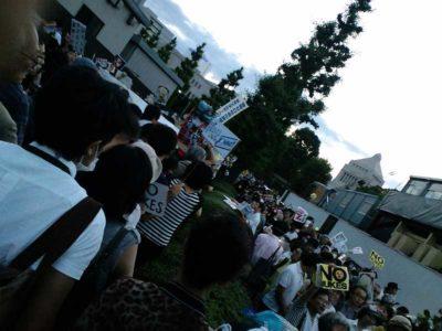 2012.06.22 大飯原発再稼働反対 官邸前行動に4万人!「紫陽花革命」に参加して