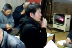 2011.01.16.三里塚反対同盟(熱田派)旗開き5/8-「続」木の根物語プロジェクトからの報告