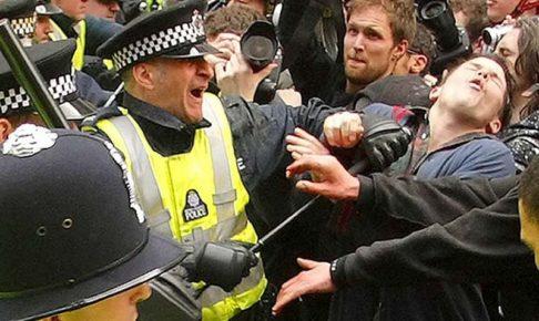 2009.04 ロンドンG20サミット抗議行動