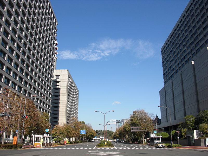 霞ヶ関の風景(wikipediaより)