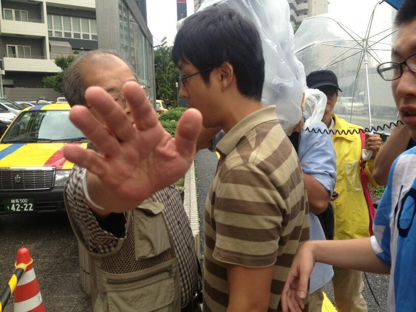 早稲田カウンター学生弾圧に抗議