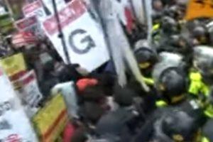 2010.11.11 ソウルG20サミット抗議行動