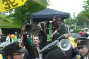 2011.05.07 警察の不当な弾圧 渋谷 反原発デモ(2)