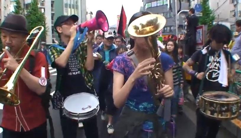 2012.05.06 第2回脱原発杉並デモ 祝!原発ゼロ パレード